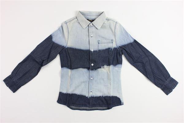 bicolore DONDUP | Camicie | SUC009E082K40049BLUE