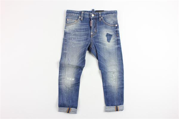 jeans con strappi DSQUARED | Pantaloni | 3944DENIM