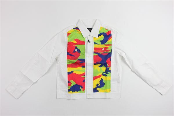 m/lunga con taschini DSQUARED | Camicie | 9554MULTICOLOR