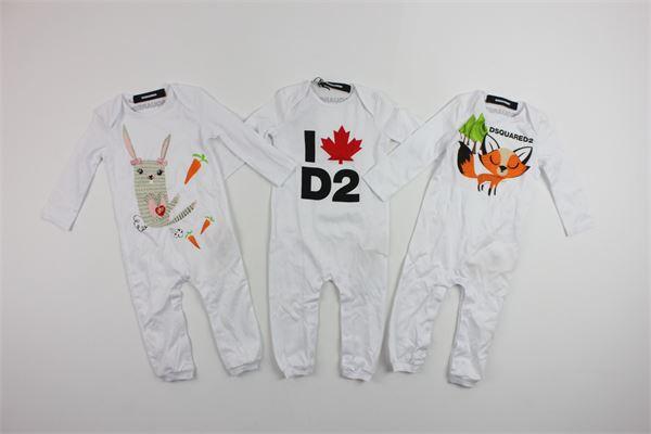 DSQUARED | little suit | DQ008LD00A5WHITE