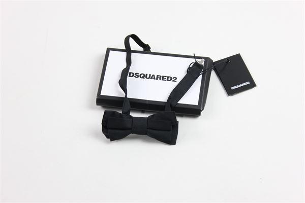 papillion tinta unita DSQUARED | Cravatte | DQ00JCD00AVDQ900BLACK