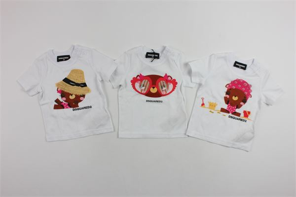 DSQUARED | t_shirt | DQ00MAD00A5WHITE