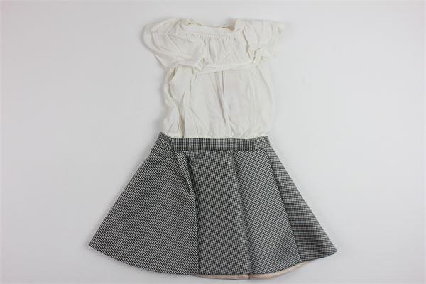 ELISABETTA FRANCHI | Dress | EFAB18GA40WHITE