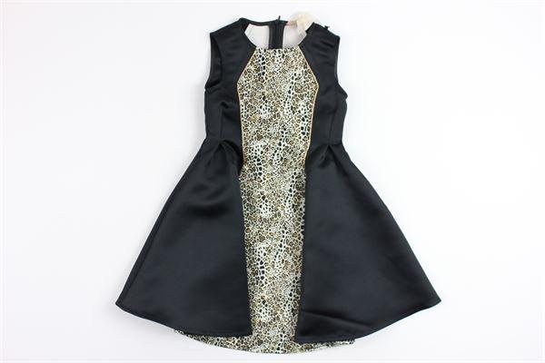 ELISABETTA FRANCHI | Dress | EFAB30MY196BLACK