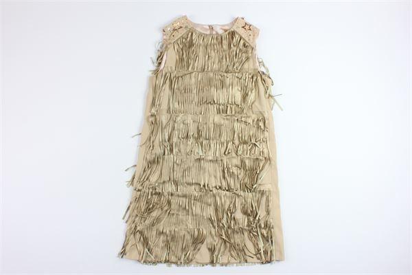 ELISABETTA FRANCHI | Dress | EFAB32GA36BEIGE