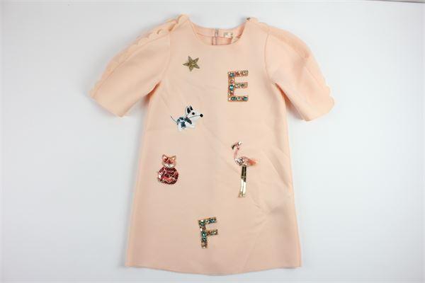 ELISABETTA FRANCHI | Dress | EFAB90NY190PINK