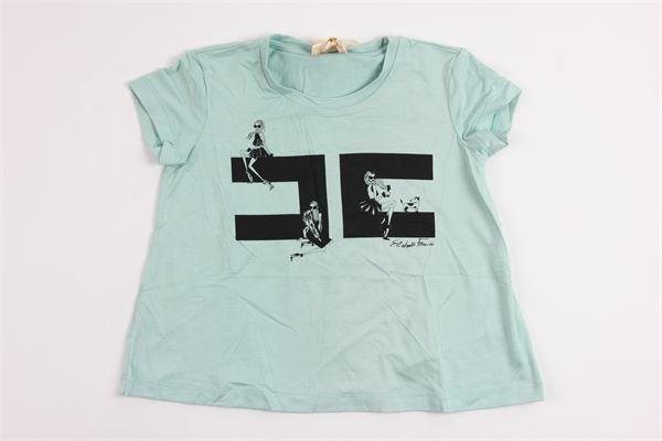ELISABETTA FRANCHI | t_shirt | EFTS05JV16GREEN