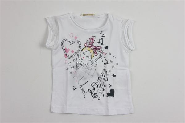 ELSY GIRL | t_shirt | 6907WHITE