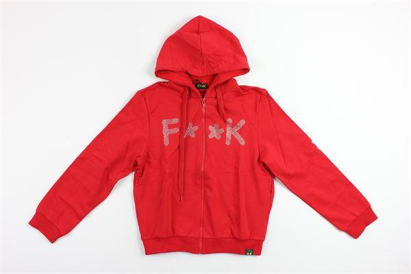 F**K | sweatshirt | 2445F0012RED