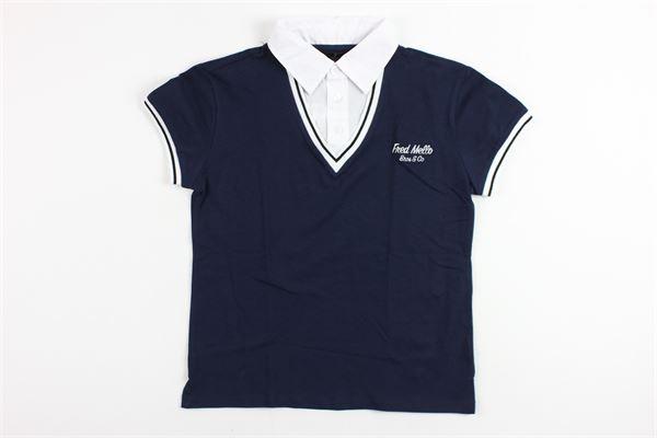 FRED MELLO   shirt   009310BLUE