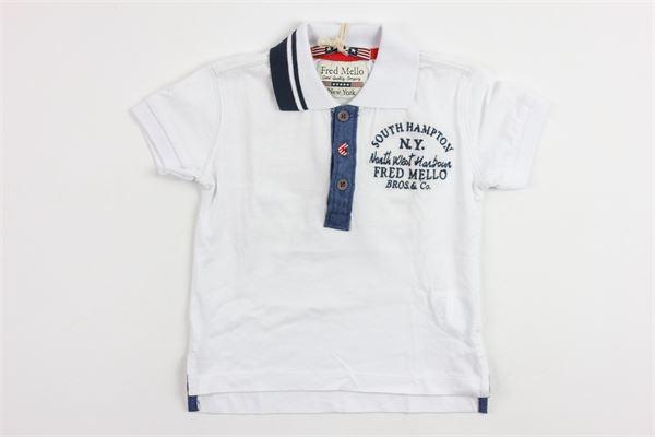 FRED MELLO | shirt | 14139WHITE