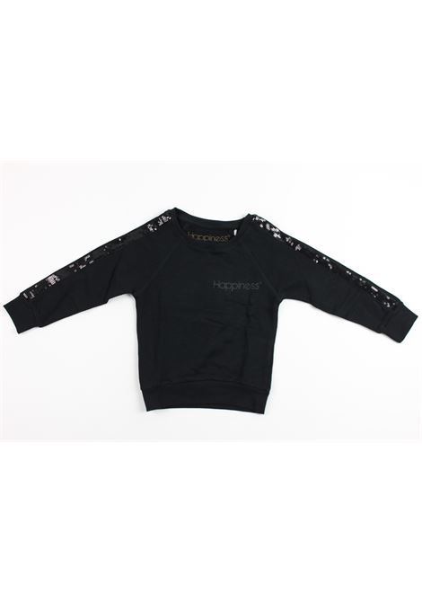 HAPPINESS | sweatshirt | FELP002BLACK