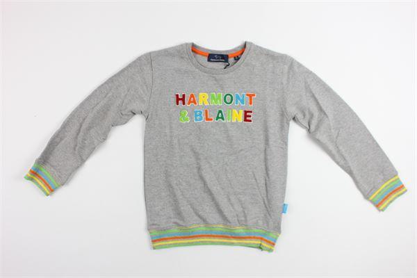 HARMONT & BLAINE   sweatshirt   172JL607GREY
