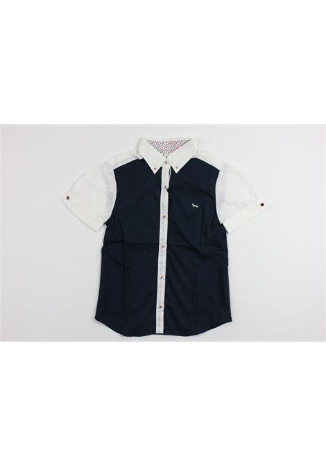 HARMONT & BLAINE | shirt | CAM997BLUE