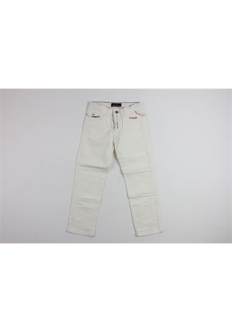 HARMONT & BLAINE   pants   PANT007WHITE