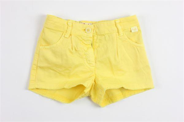 IL GUFO   shorts   P18PS046C6002/203YELLOW