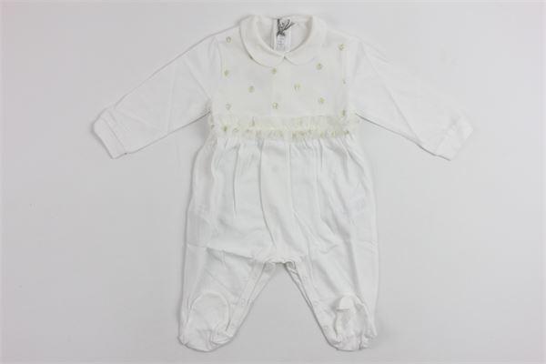 IL GUFO   little suit   P18TP206M0014/1024WHITE