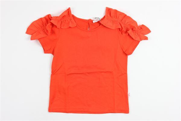 IL GUFO   t_shirt   P18TS150M7011/262ARANCIO