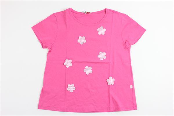 IL GUFO   t_shirt   P18TS154M0014/3535FUCSIA