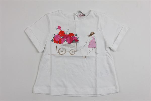 IL GUFO   t_shirt   P18TS8F2M0014/0135WHITE