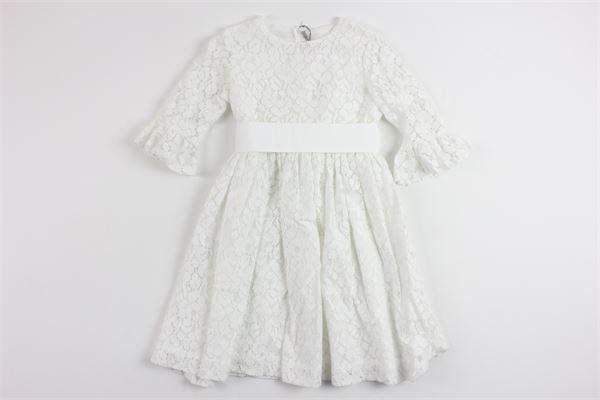 IL GUFO | Dress | P18VL263C5035/100WHITE