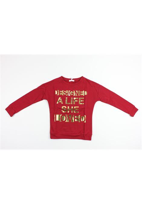 Jobilla | sweatshirt | 6048BORDEAUX