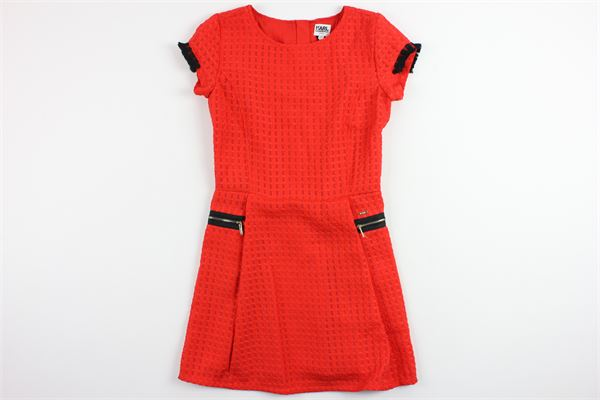 KARL LAGERFELD | Dress | 8749RED