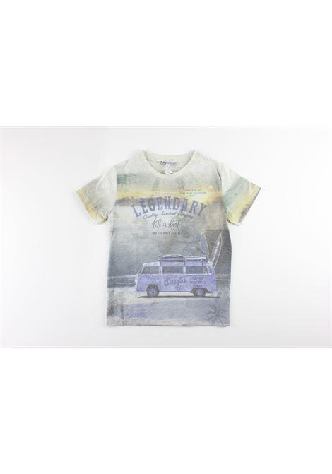 LA FELPERIA ITALIANA | t_shirt | F1086AZZURRO