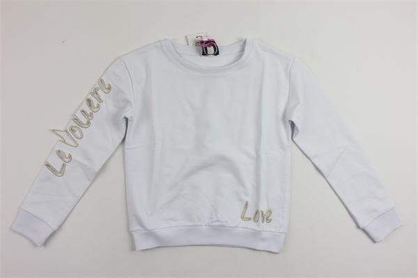 LE  VOLIERE   sweatshirt   GS05WHITE