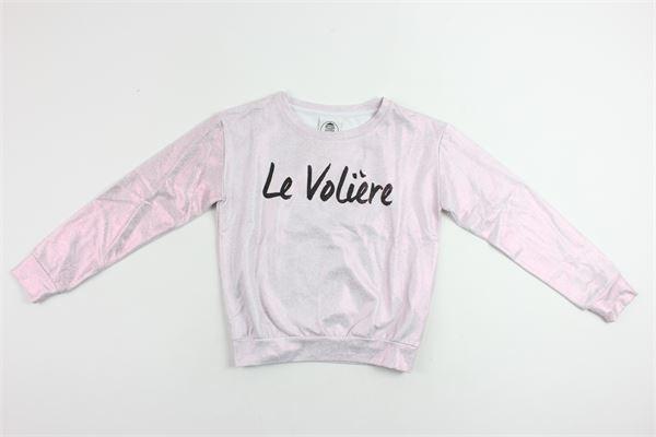LE  VOLIERE   sweatshirt   GS11PINK