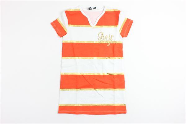 LE  VOLIERE   Dress   GS18D115SOORANGE
