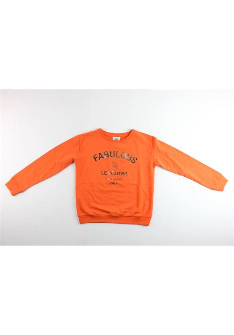 LE  VOLIERE   sweatshirt   GS18F100SOORANGE