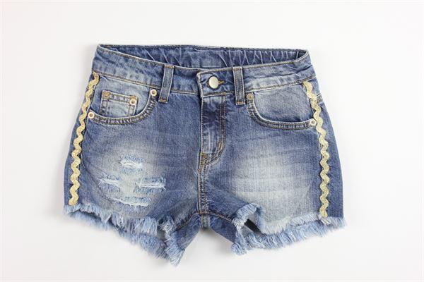 LE  VOLIERE   shorts   GS18P099DBDENIM