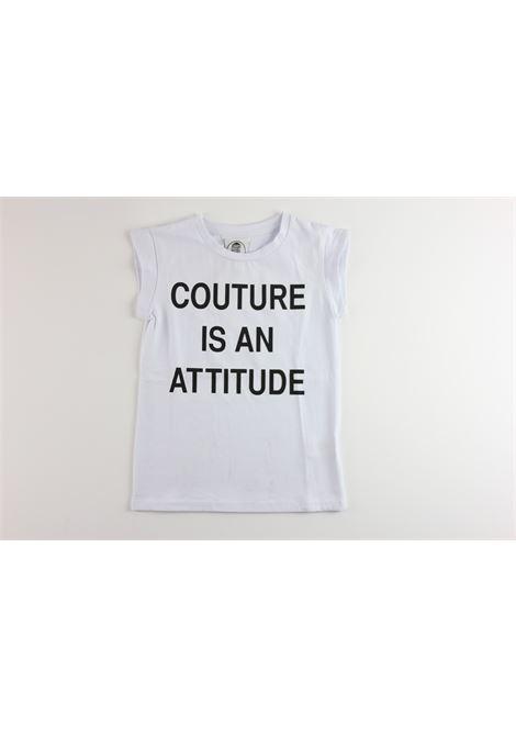 LE  VOLIERE   t_shirt   GS18T002JWWHITE