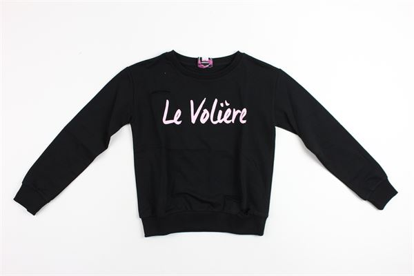 LE  VOLIERE   sweatshirt   GS25BLACK