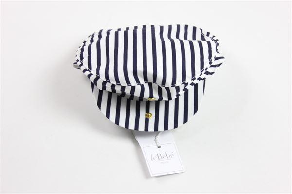 LE BEBE' | hat | 9217WHITE/BLU