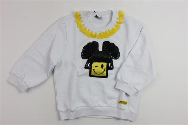 LEITMOTIV   sweatshirt   0068WHITE