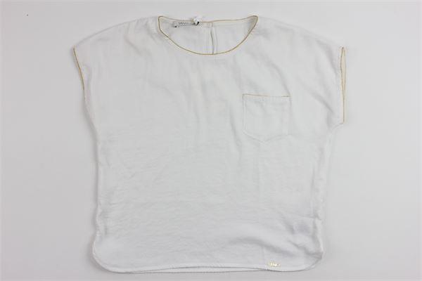 LIU JO | t_shirt | G17046T8434WHITE
