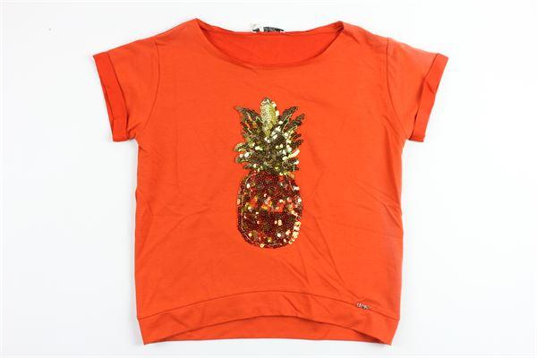 LIU JO | sweatshirt | G17135F0615ORANGE