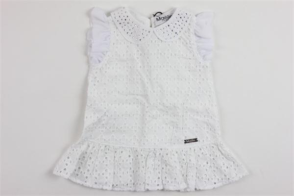 MAELIE | Dress | 9982WHITE