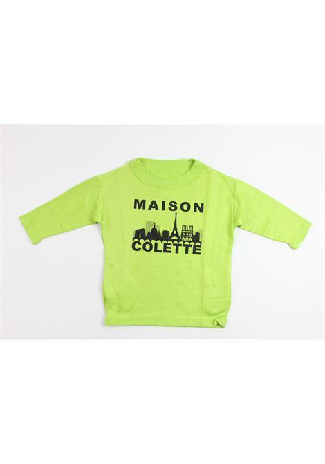 MAISON COLETTE   sweatshirt   B172GREEN