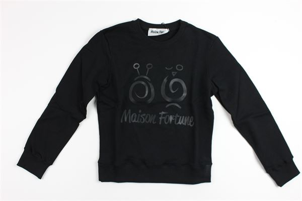 MAISON FORTUNE | sweatshirt | 2002BLACK