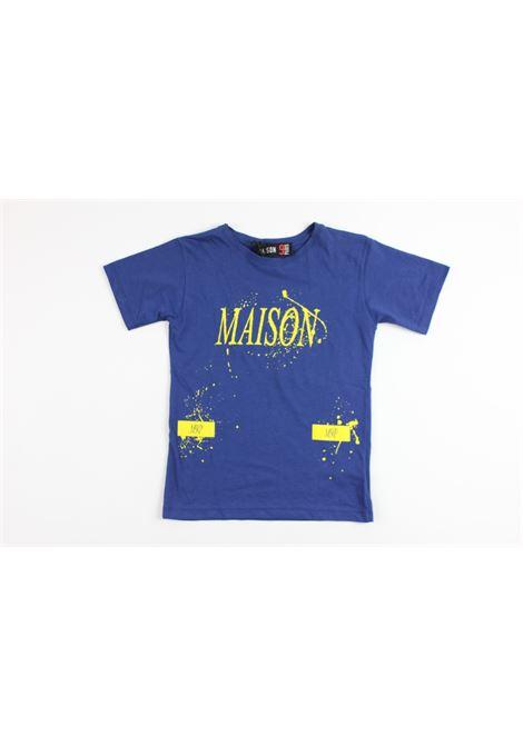 MAISON PARIS | t_shirt | M9P387BLUE