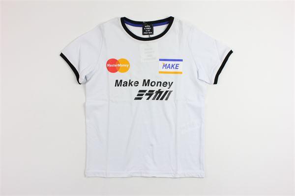 logo make money MAKE MONEY NOT FRIENDS | T-shirts | MB1716WHITE