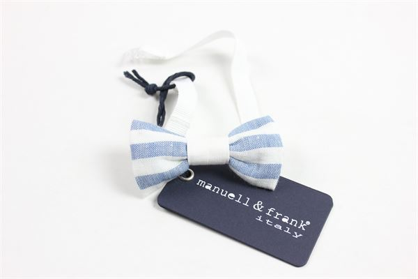 MANUEL & FRANK | necktie | MP026WHITE/AZZURRO