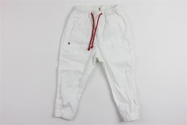 MANUEL RITZ | pants | MR0221WHITE