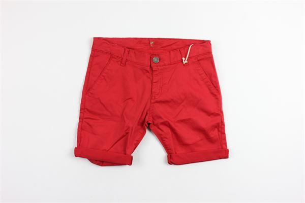 MANUEL RITZ | short pant | MR0223RED