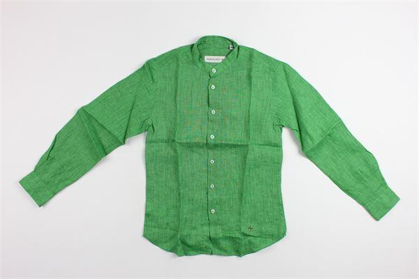 MANUEL RITZ | shirt | MR0347GREEN