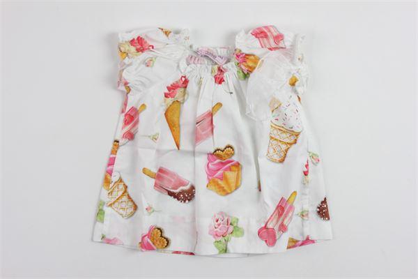MONNALISA | Dress | 09912WHITE