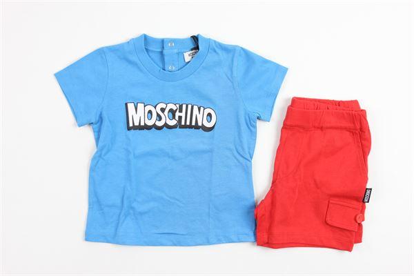 MOSCHINO | full | 9272BLU/RED